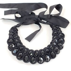 Statement Necklace Jewelry - NWOT! Statement Necklace Ribbon  [D1]